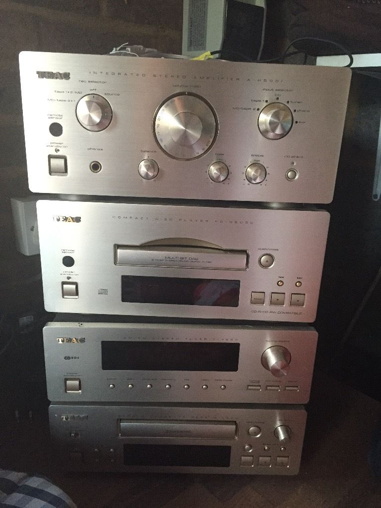 Teac Ref 500 HI FI system and MIssion 770 speakers CD player needs fixing