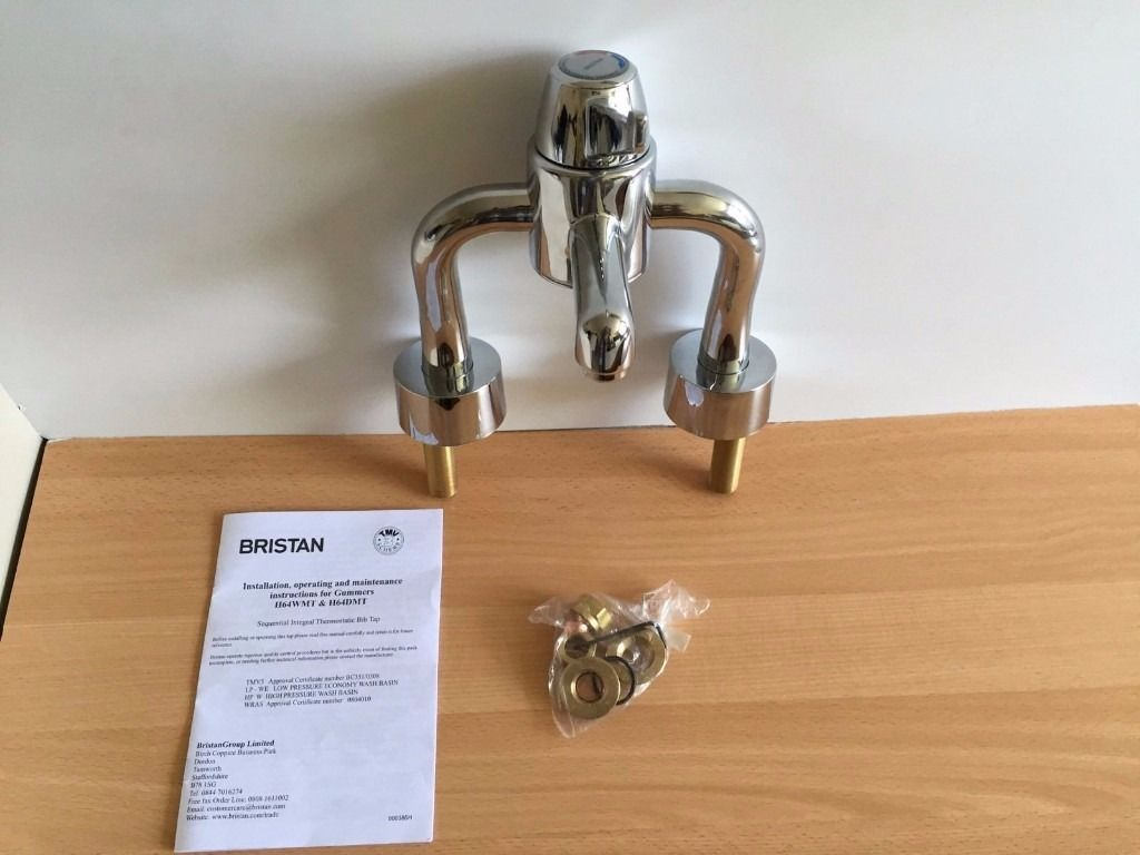 Bristan H64DMT Polished Chrome Gummers Opac Single Control Deck