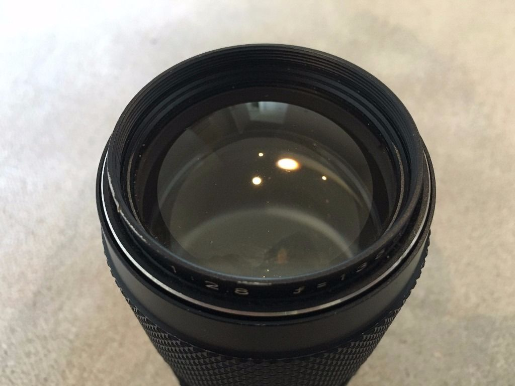 Mamiya Sekor f2.8 135mm M42 prime zoom lens with M42-NEX adapter for Sony NEX / SLR