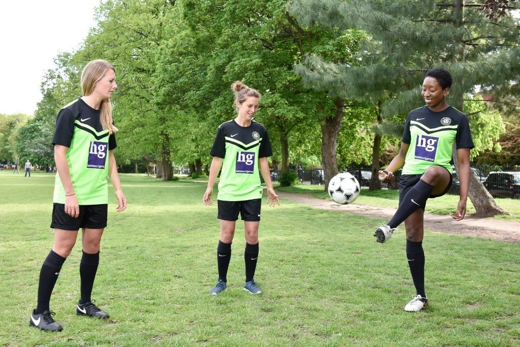 JOIN US! Womens football/ladies soccer, nice team near central London seeks good experienced players