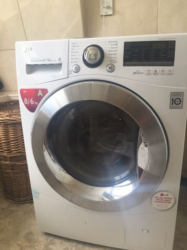 LG Washer Dryer motion DD - F14A8YD