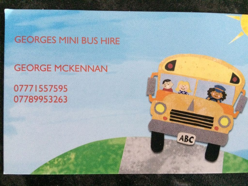 MINIBUS HIRE-14 SEATER-VERY RELIABLE