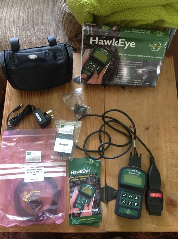 HAWKEYE DIAGNOSTIC TOOL /LAND ROVER
