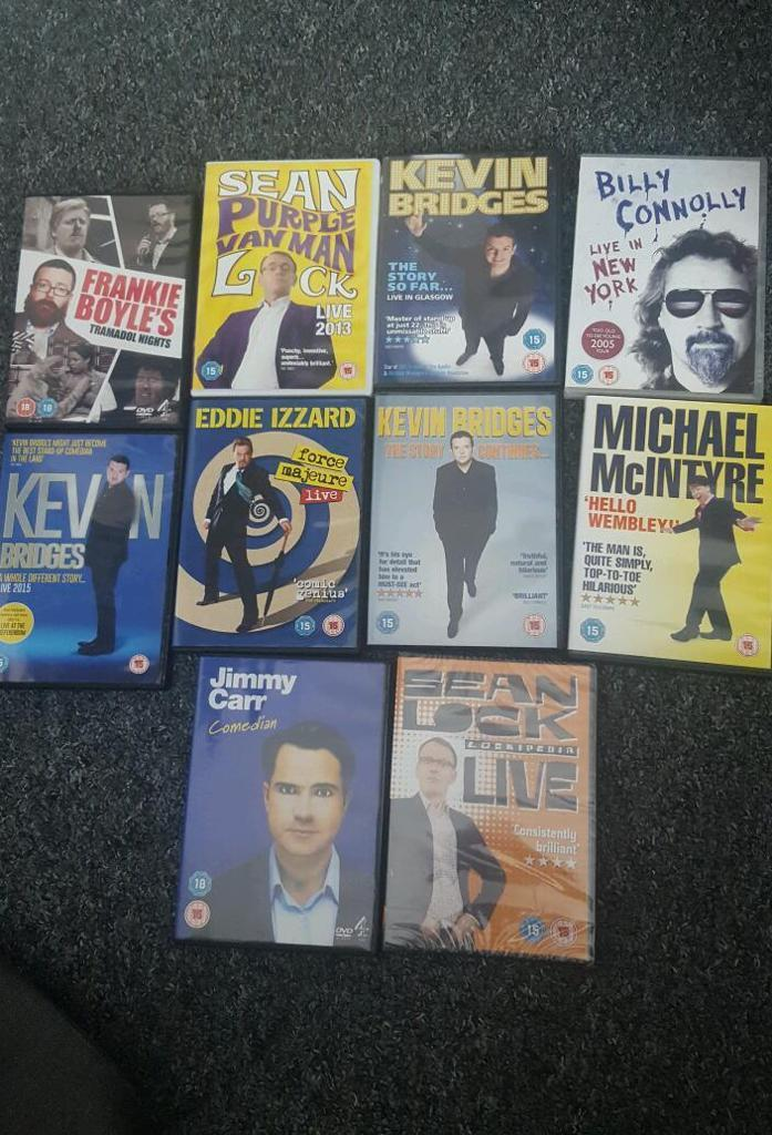10 comedian dvd collection