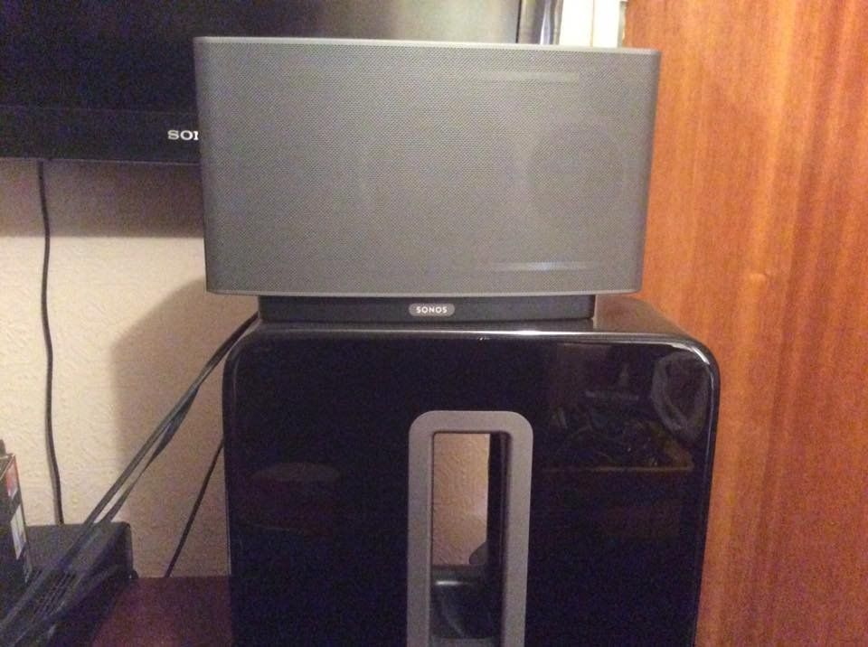 Sonos Play 5 and Subwoofer