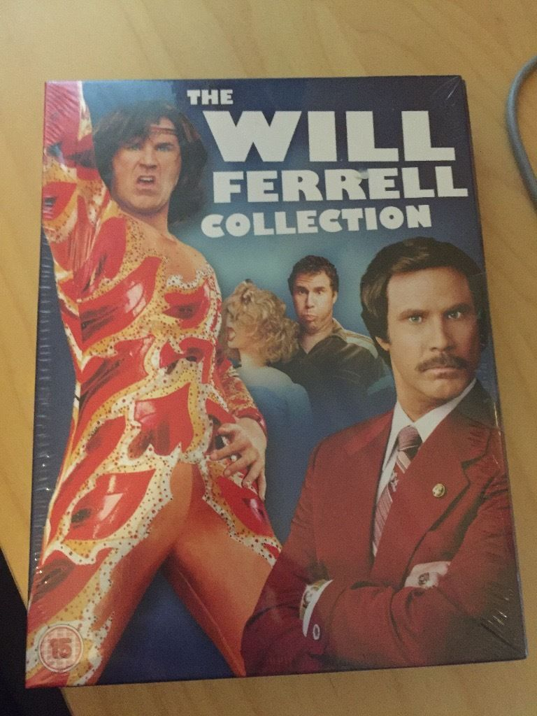 The Will Ferrell DVD Collection - Brand New