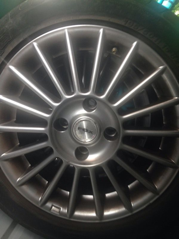 15in fox alloys 4x108