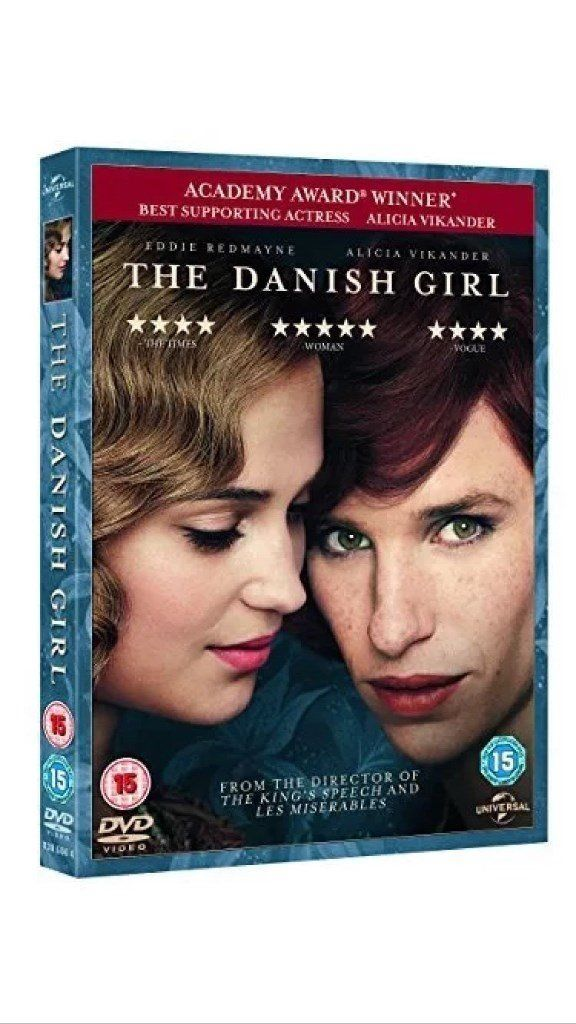 THE DANISH GIRL BRAND NEW SEALED DVD