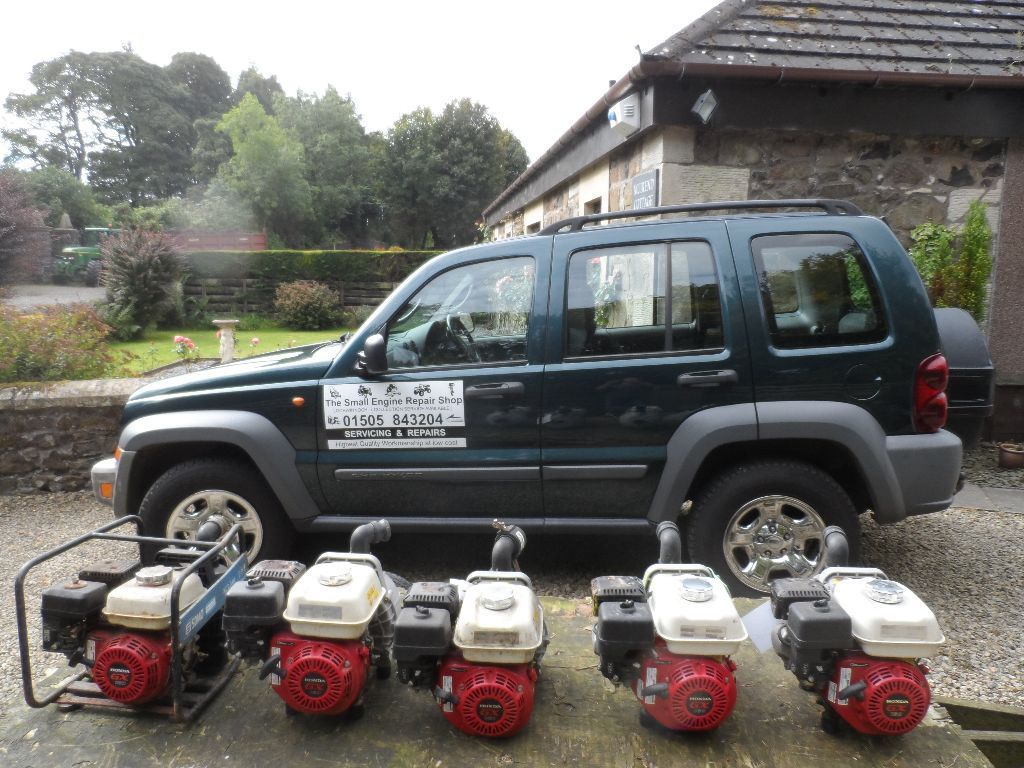 LAWNMOWER, GARDEN MACHINERY, OUTBOARDS, QUADS and PLANT REPAIR AND SERVICING covering SW Glasgow
