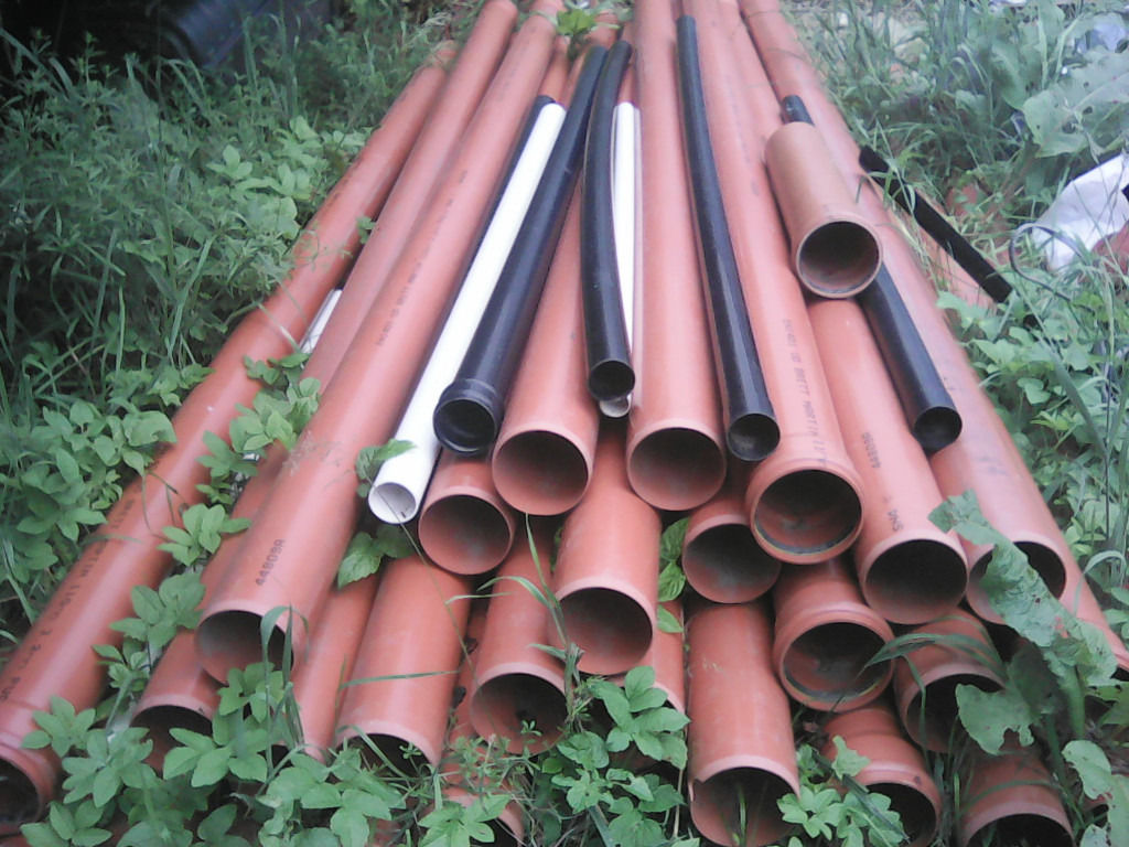 Underground Drainage + Assorted fittings + Access Chamber