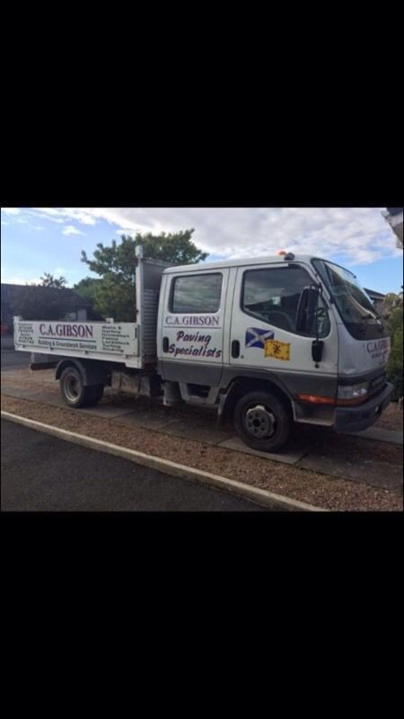 Mitsubishi canter double cab tipper