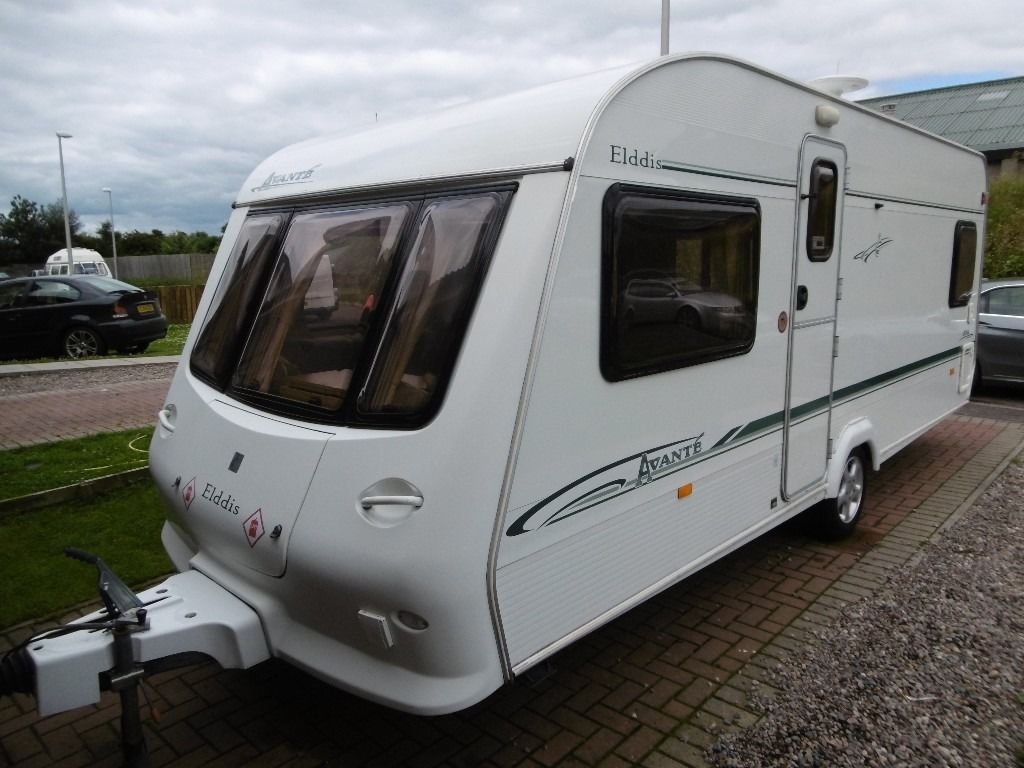 ELDDIS AVANTE 534 FIXED BED CARAVAN