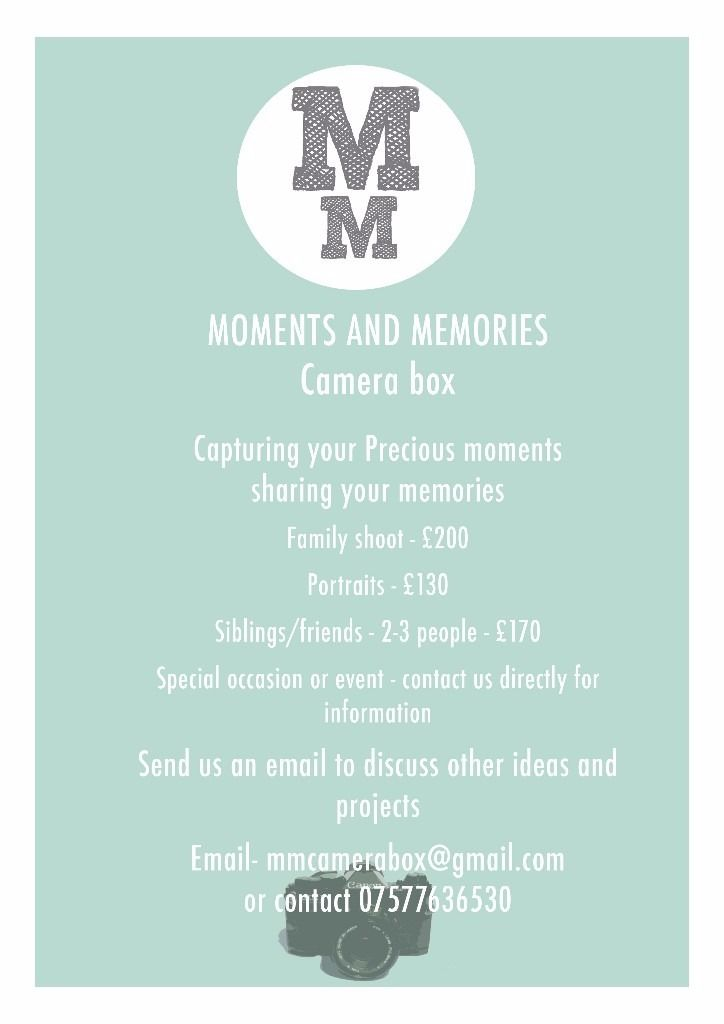 MM Photography, Portrait and Family photography available at your home or in studio