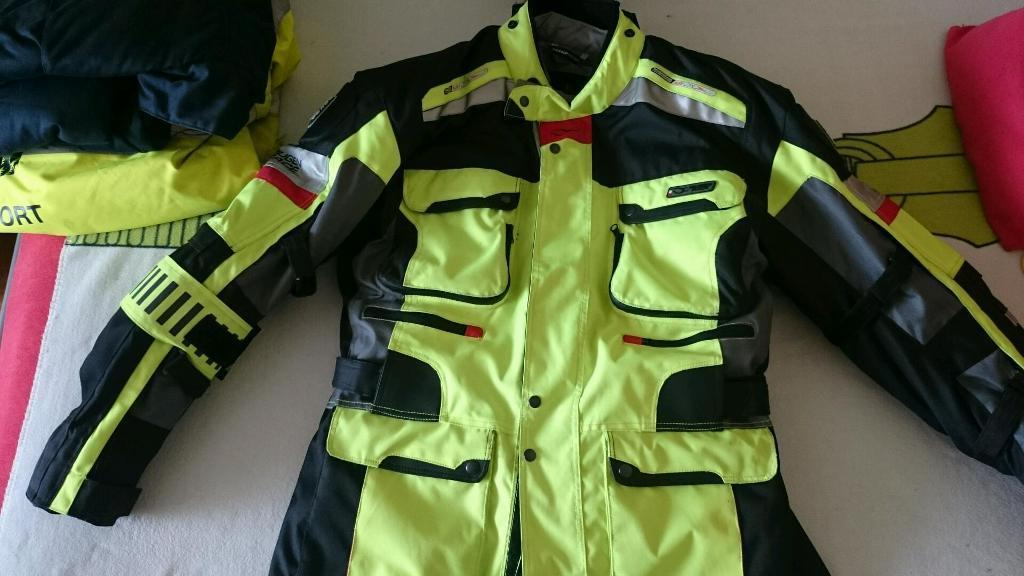 Motorcycle jacket and trouser