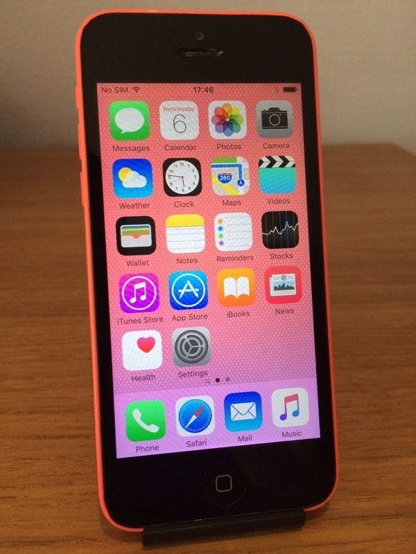 Apple iPhone 5 PINK 5C Vodafone 8GB