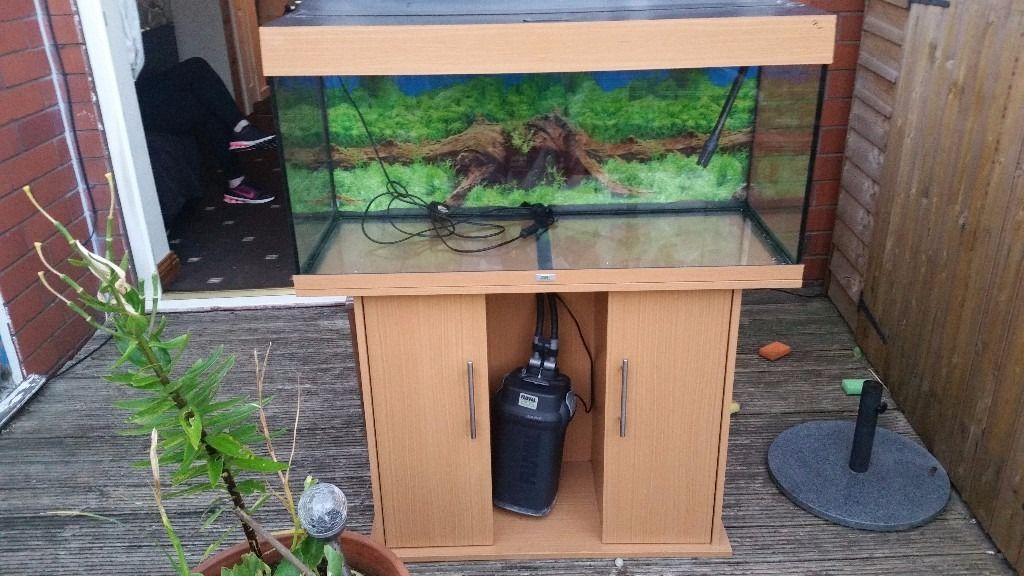 Juwel fish tank with stand