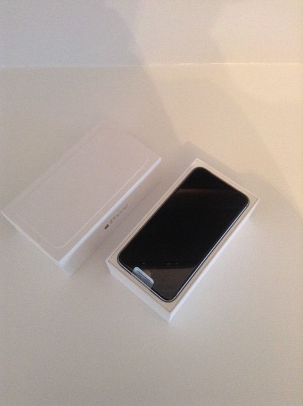 New and unused iPhone 6 Plus 16 GB space grey on o2 network