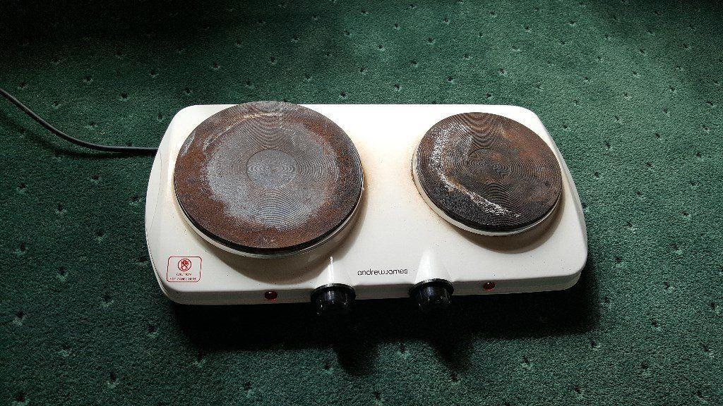 Portable electric hotplate