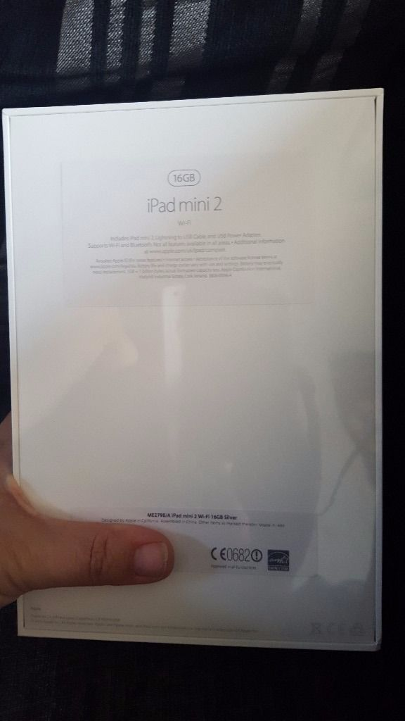 Brand new apple ipad mini 2 wifi 16gb