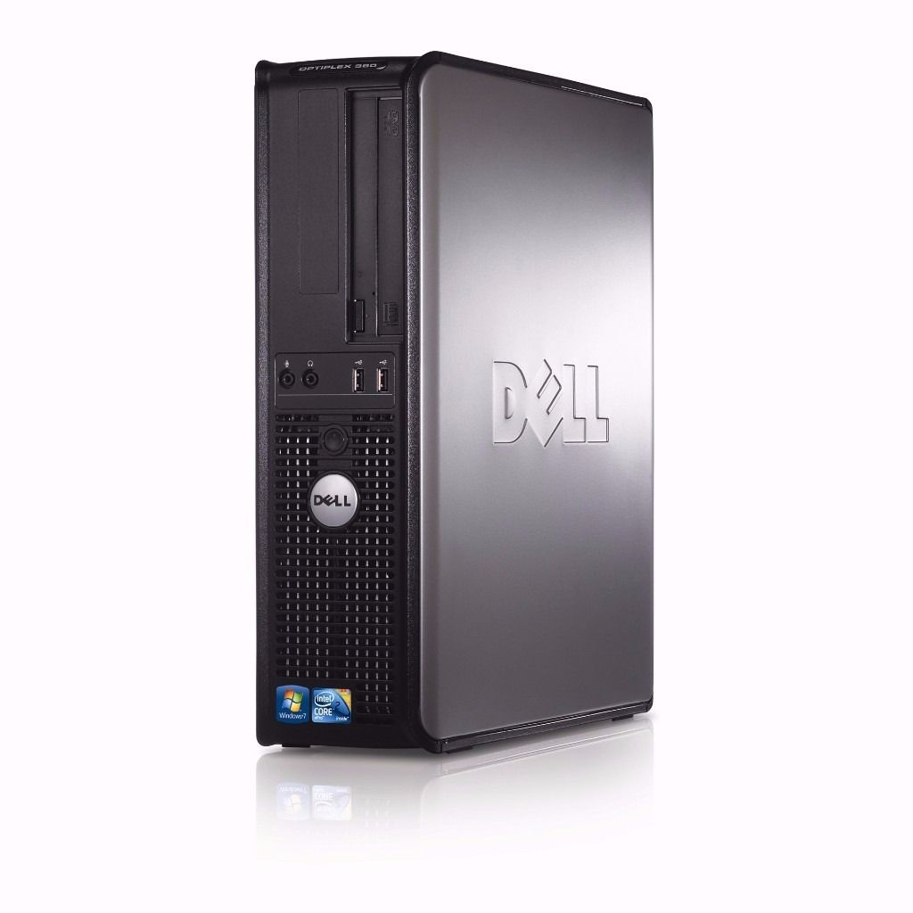 Dell Optiplex 380 desktop PC, Core2Duo E7500 2.93Ghz, 2GB, Nvidia, DVDRW, Windows 7