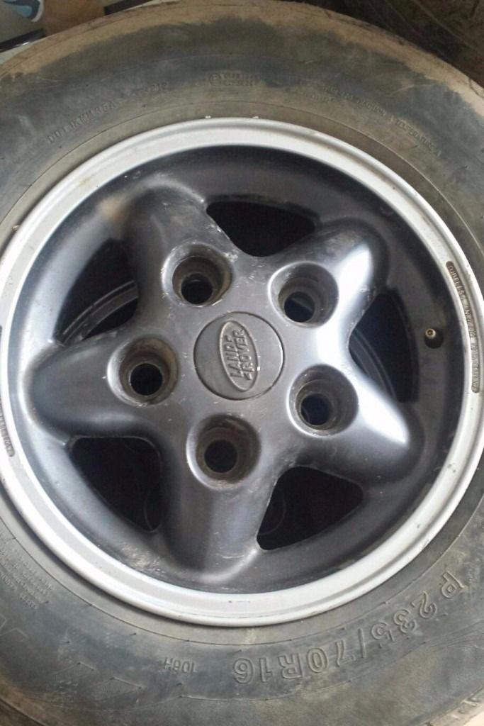 Land rover Discovery alloy wheels may fit Defender