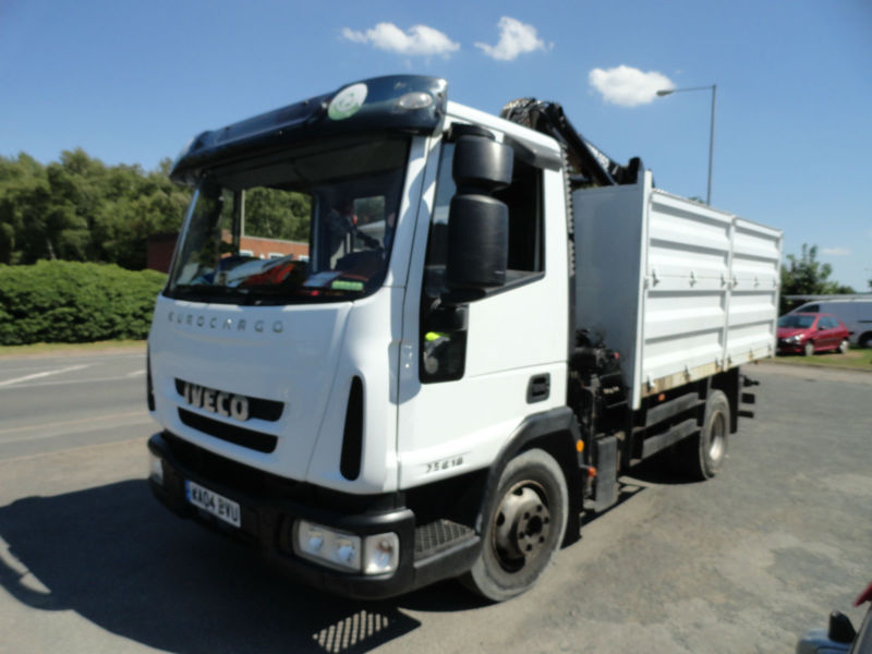 IVECO-FORD HIAB TIPPER 2004 NICE CONDITION