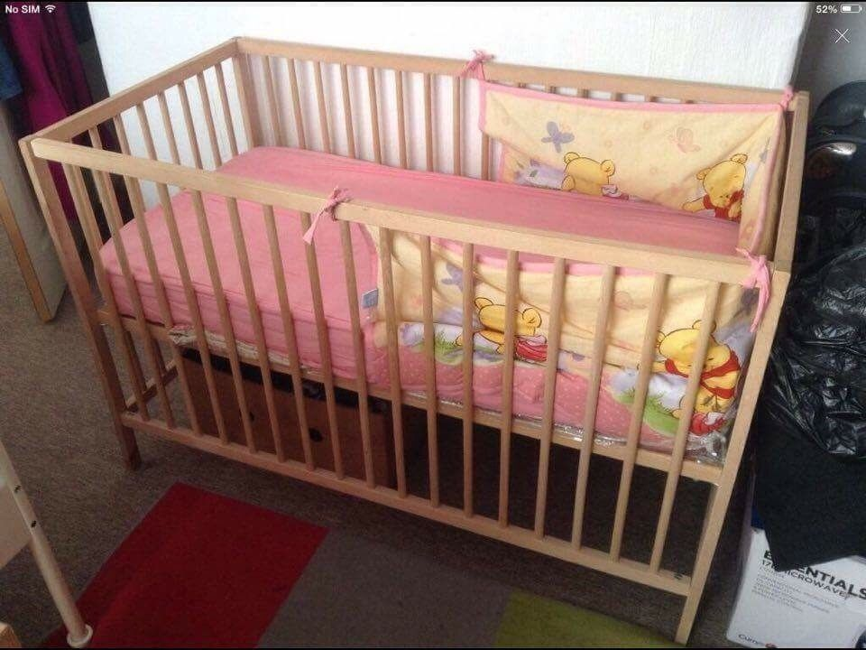 Table and cot bed