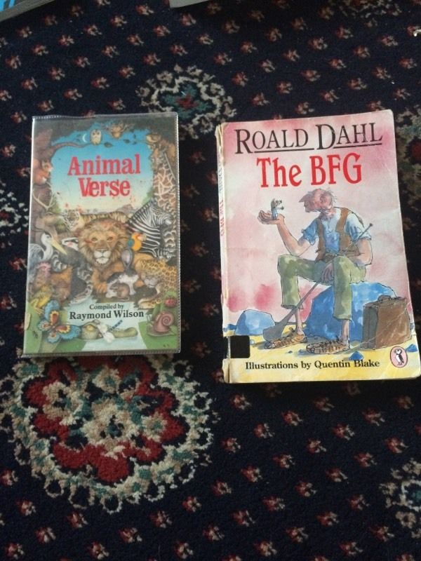 The BFG and animal verse
