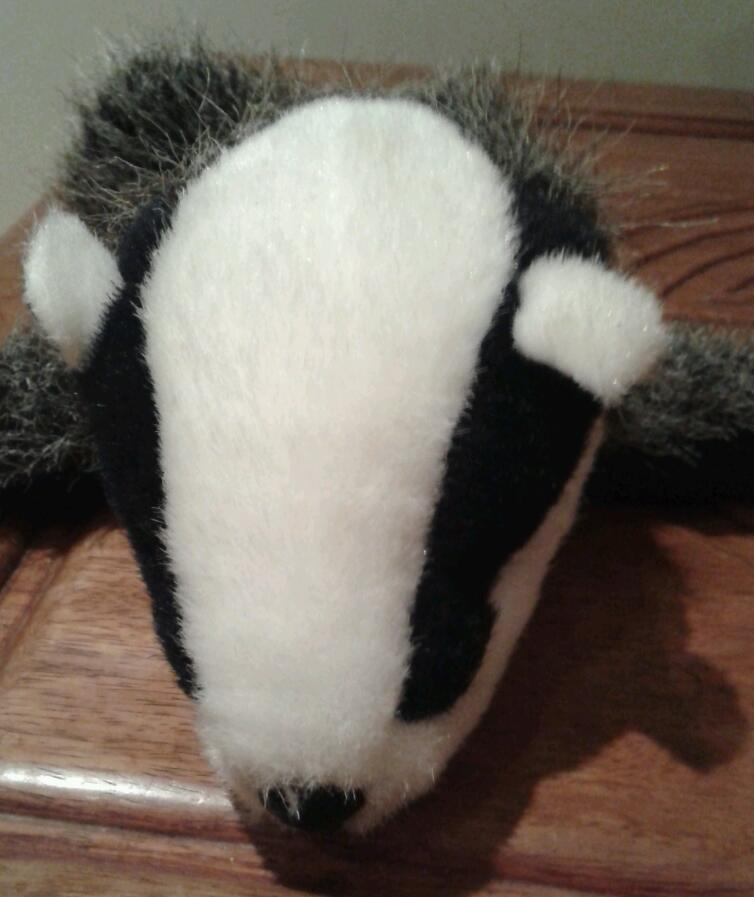 Small Badger Hand Puppet