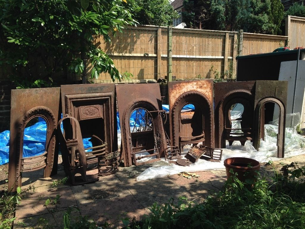 Original Victorian Fireplaces with accessories - Wonderful opportunity!