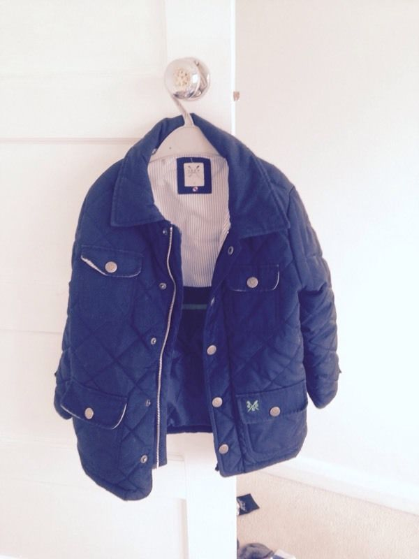 Childs Crew coat