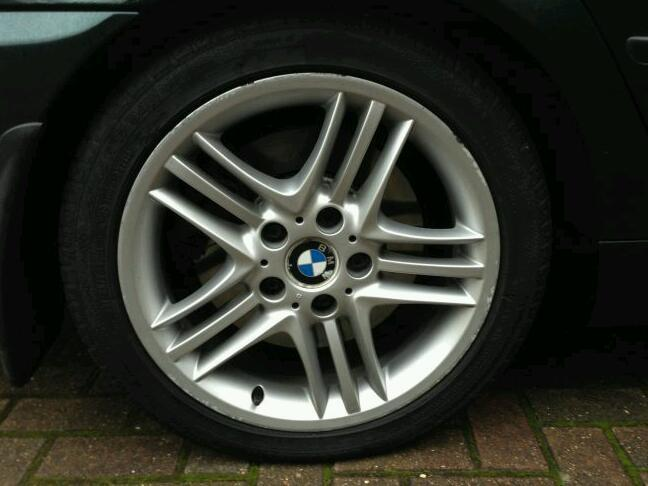 BMW 330d wheels