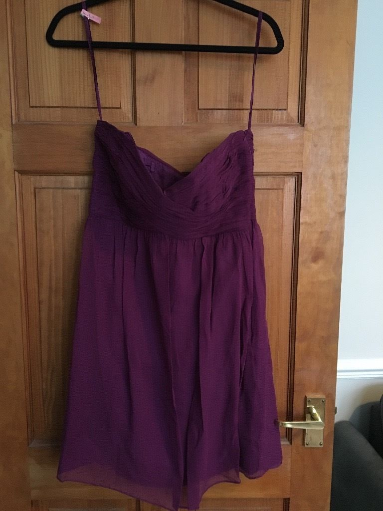 Coast purple dress size 14