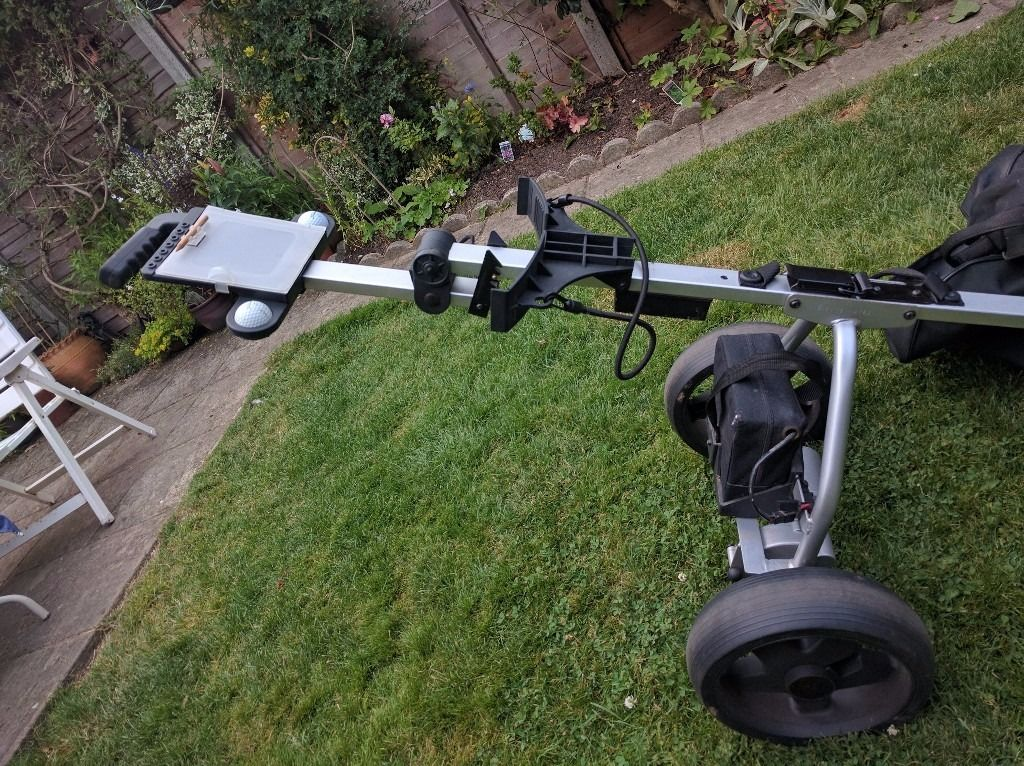 Electric golf trolley (needs new battery)