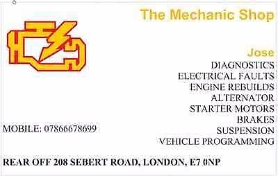 Mechanic & Diagnostics Fault Code Reading, DPF, AIRBAG, ABS - Car Quick Service London