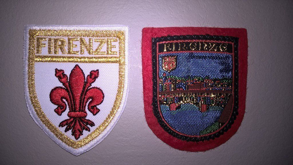 Florence City Embroidered Patches/Badges