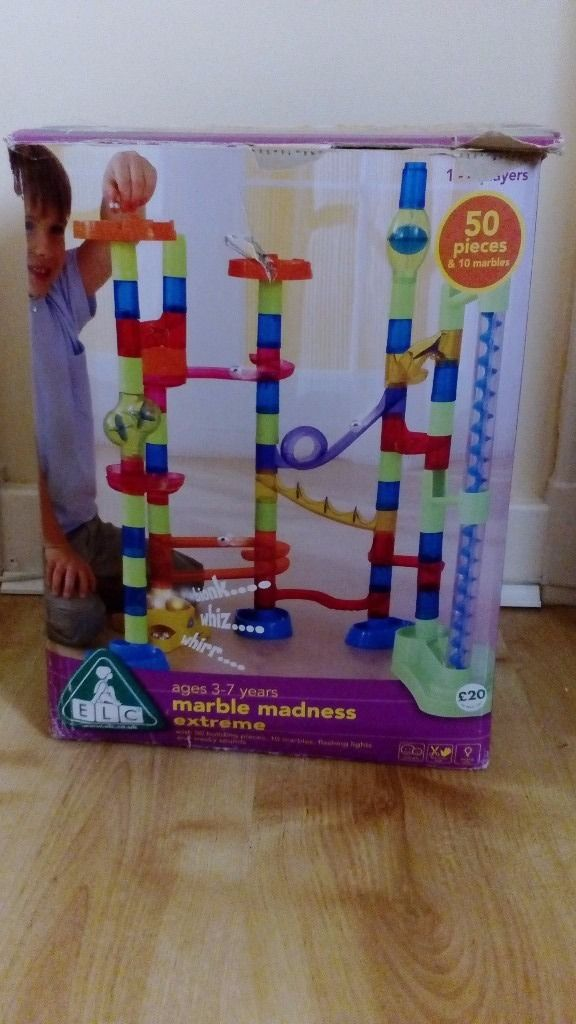 Marble madness - early learning centre
