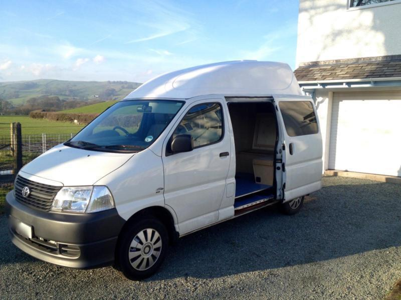 Toyota campervan conversion 2008