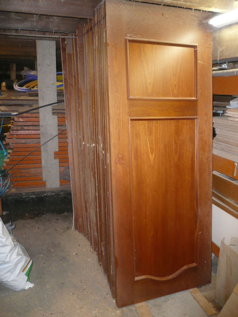selection of 21 Spanish style used Mahogany wooden doors (can sell individually)