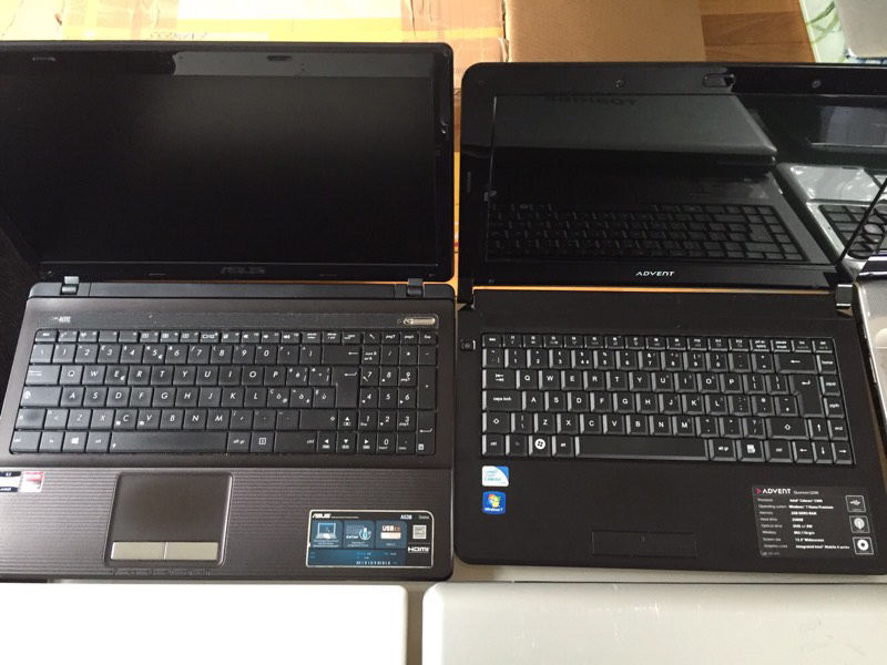 Joblot of 37 working laptops