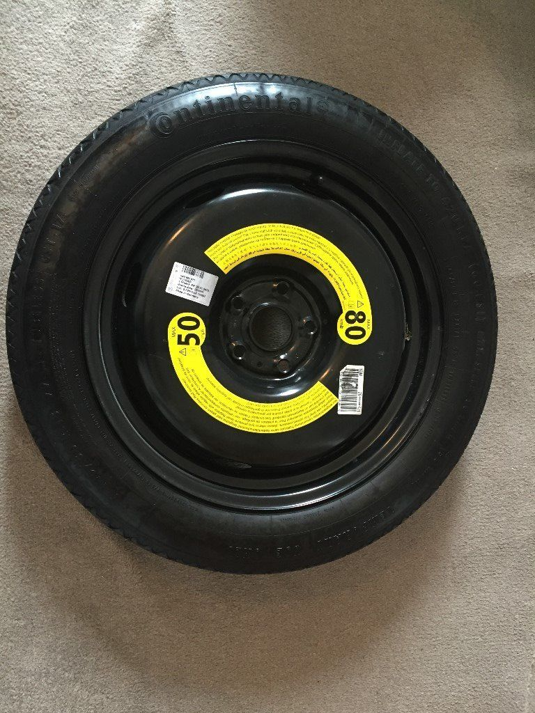 Audi Q3 Space saving spare Wheel (Unused) - Continental tyre size: 145/80R18