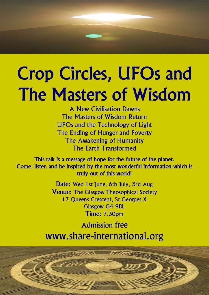 Crop Circles, UFOs and The Masters of Wisdom