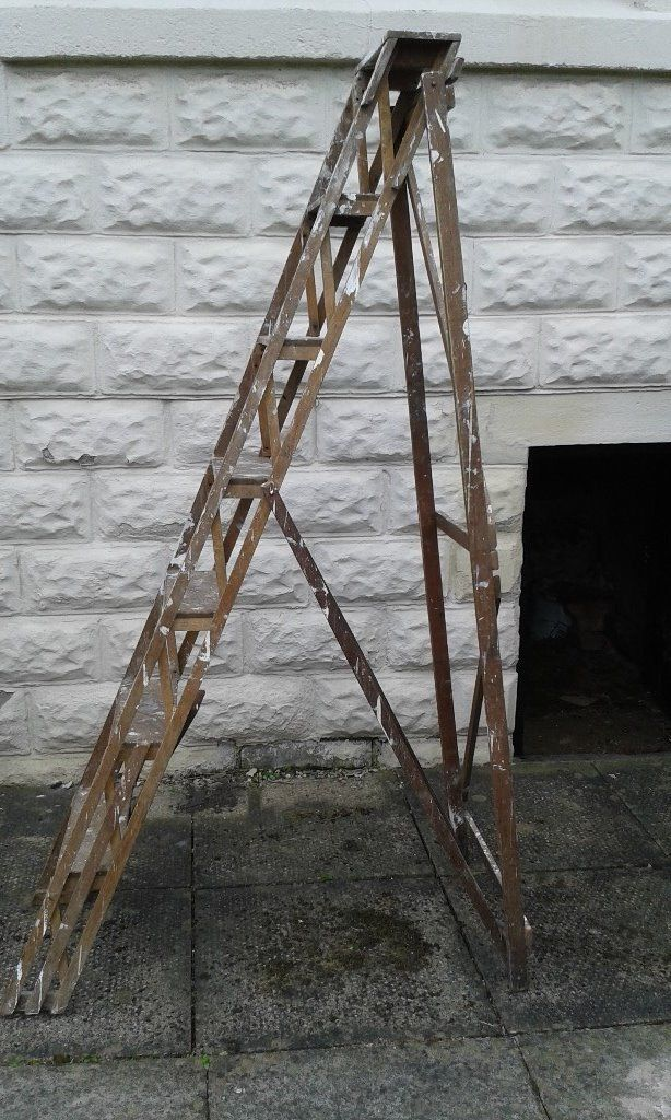 6ft wooden step ladders