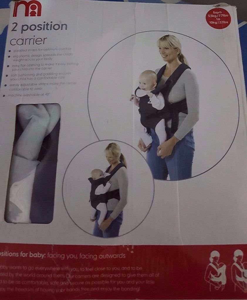Brand new Mothercare baby carrier...
