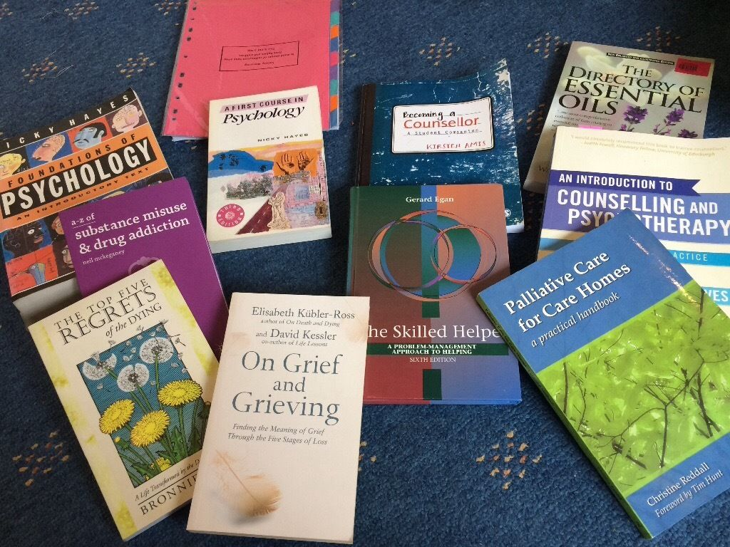 Counselling books used for Hnc in counselling