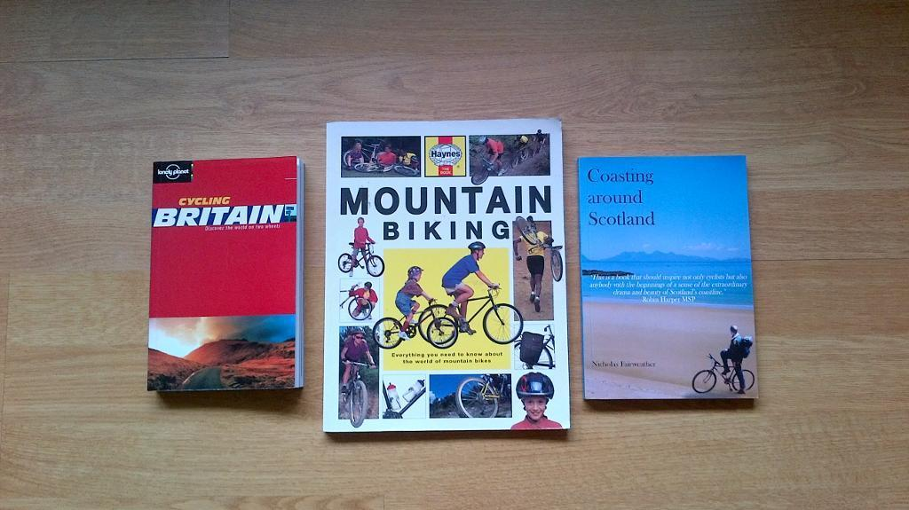 Cycling books - 3 in total