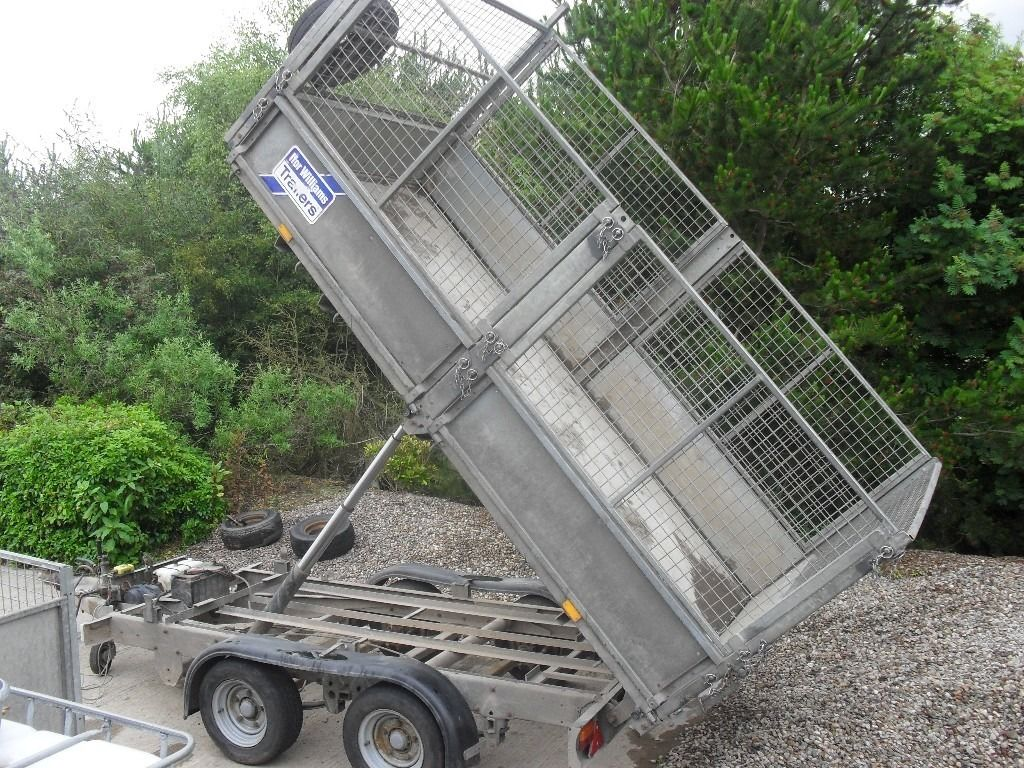 2011 ifor willims tt105 tipper trailer fully caged in very good condition