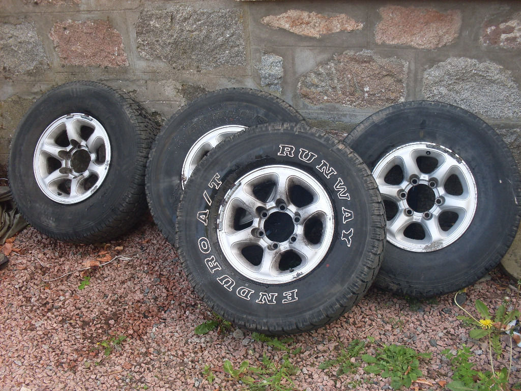 15inch alloy wheels and tyres