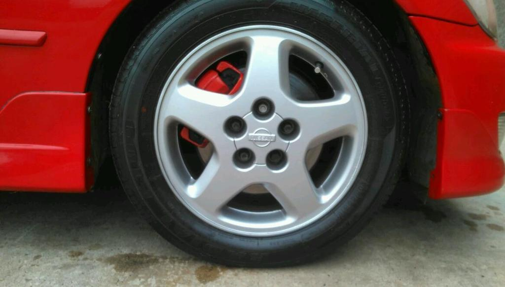"Nissan S14 Alloys , Fit is200 / Altezza aswell. May swap for 17"" 5x114.3 alloys."