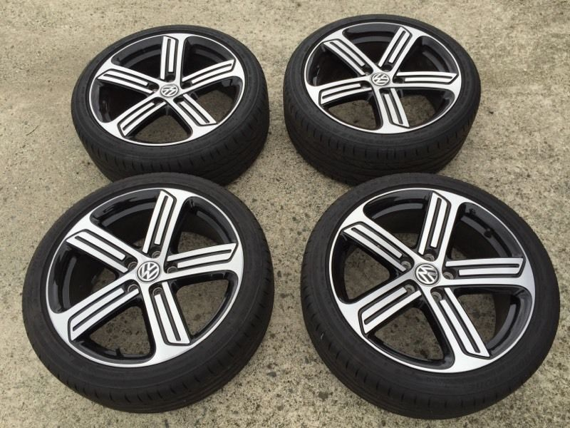 Genuine Vw Golf R alloy wheels